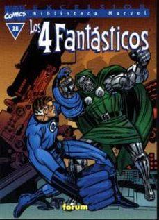 Relaismarechiaro.it Los 4 Fantasticos Nº 28 (Biblioteca Marvel V.i) Image