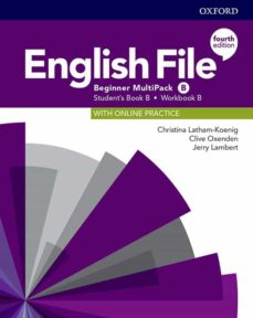 Descargas ebooks ipad ENGLISH FILE BEGINNER (MULTIPACK) STUDENT BOOK/WORKBOOK B 4ED 9780194029766 CHM MOBI RTF