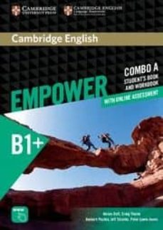 Libros gratis para descargar iphone CAMBRIDGE ENGLISH EMPOWER INTERMEDIATE COMBO A (SPLIT EDITION) (STUDENT S BOOK A & WORKBOOK A WITH ONLINE ASSESSMENT & PRACTICE) in Spanish