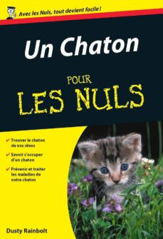 un chaton pour les nuls (ebook)-dusty rainbolt-9782754060066
