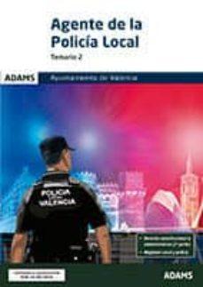 Descarga gratuita del formato jar de ebooks AGENTE DE LA POLICIA LOCAL. TEMARIO 2. AYUNTAMIENTO DE VALENCIA de  (Spanish Edition) RTF iBook