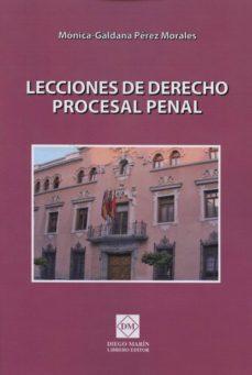 Followusmedia.es Lecciones De Derecho Procesal Penal Image