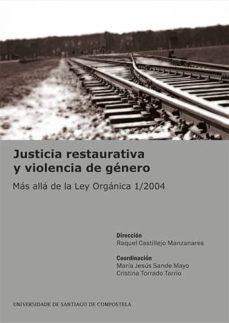 justicia restaurativa y violencia de género-9788416183166