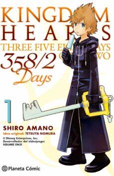 kingdom hearts 358/2 days 1-shiro amano-9788416308866