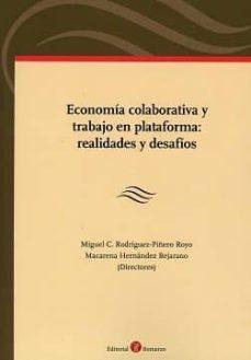 Eldeportedealbacete.es Economia Colaborativa Y Trabajo En Plataforma: Realidades Y Desafios Image
