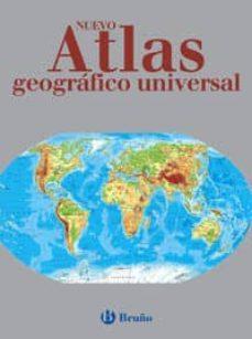 nuevo atlas geografico universal-9788421632666