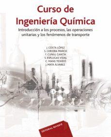 curso de ingenieria quimica-j. costa-9788429171266