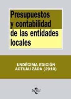 Cdaea.es Presupuestos Y Contabilidad De Las Entidades Locales (11ª Ed.) Image
