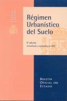 Carreracentenariometro.es Regimen Urbanistico Del Suelo (6ª Ed.) Image