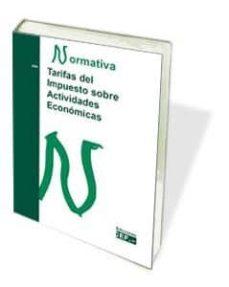 tarifas del impuesto sobre actividades económicas-9788445436066