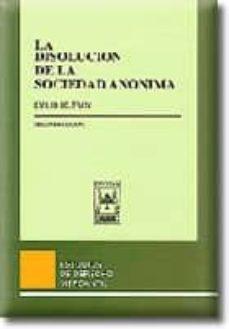 Geekmag.es La Disolucion De La Sociedad Anonima (2º Ed.) Image