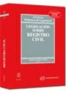 Permacultivo.es Legislacion Sobre Registro Civil. 27ª Ed. (2010) Image