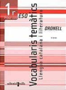 Padella.mx Vocabularis Tematics: Llengua Catalana I Literatura (Oronell) (1e R Eso 1er Cicle) (Quadern) Image