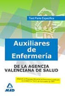 Upgrade6a.es Auxiliares De Enfermería De La Agencia Valenciana De Salud. Test Parte Específica Image