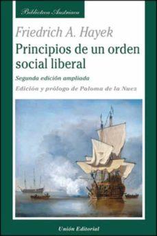 Descargar PRINCIPIOS DE UN ORDEN SOCIAL LIBERAL gratis pdf - leer online