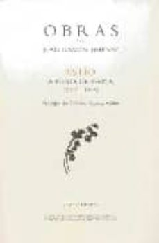 obras de juan ramon jimenez: estio: a punta de espina-juan ramon jimenez-9788475220666
