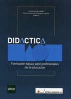didactica: formacion basica para profesionales de la educacion-maria concepcion dominguez garrido-9788479912666