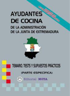 AYUDANTES DE COCINA PARTE ESPECÍFICA (TEMARIO-TESTS-SUPUESTOS) - VV.AA. | Triangledh.org