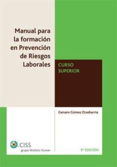 Trailab.it Manual Formacion Prevencion Relaciones Laborales Curso Superior ( 9ª Ed.) Image