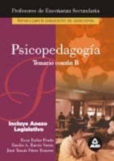 Permacultivo.es Psicopedagogia, Temario Parte B: Preparacion Profesores Educacion Secundaria Image