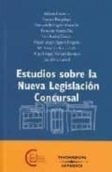 Cdaea.es Estudios Sobre La Nueva Legislacion Concursal Image