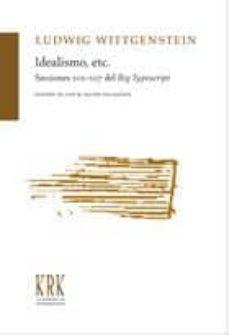 Geekmag.es Idealismo, Etc.: Seccions 101-107 Del Big Typescript Image