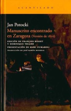 manuscrito encontrado en zaragoza (version de 1810)-jan potocki-9788492649266