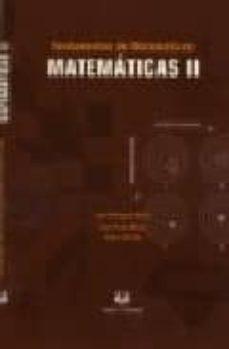 Inmaswan.es Fundamentos De Matematicas: Matematicas Ii (Nuevo 2005/2006) Image