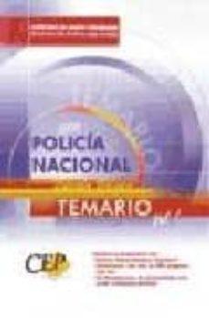 Costosdelaimpunidad.mx Policia Nacional: Escala Basica: Temario (Vol. I) Image