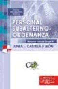 Temario Test Y Supuestos Prácticos Oposiciones Personal Subalter No Ordenanza Personal Laboral Grupo V Junta De Castilla Y Leon Vv Aa Comprar