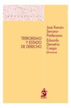 terrorismo y estado de derecho-eduardo demetrio crespo-9788498900866