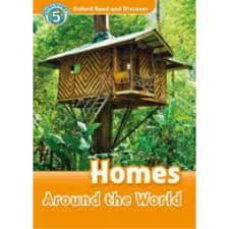 oxford read and discover 5 homes around world audio pack-9780194644976