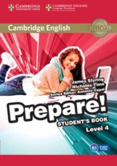 Libro en pdf para descargar gratis CAMBRIDGE ENGLISH PREPARE! 4 STUDENT S BOOK