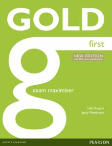 Libros de audio descargables gratis para ipad GOLD FIRST NE  EXAM MAXIMISER W/ ONLINE AUDIO (NO KEY) (EXAMENES) de   en español 9781447907176