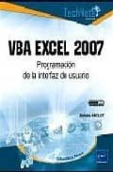 Descargar VBA EXCEL 2007: PROGRAMACION DE LA INTERFAZ DE USUARIO gratis pdf - leer online