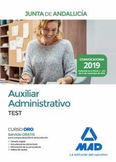 Trailab.it Auxiliar Administrativo De La Junta De Andalucía. Test Image