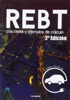 Descargar Ebook italiano gratis REBT CON TEST Y EJEMPLOS AL CALCULO (2ª ED.) RTF DJVU in Spanish
