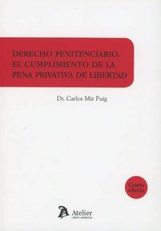 Descargar DERECHO PENITENCIARIO 2018 EL CUMPLIMIENTO DE LA PENA PRIVATIVA D E LIBERTAD gratis pdf - leer online