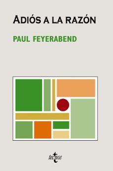 adios a la razon-paul k. feyerabend-9788430946976