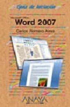 Padella.mx Word 2007 (Guias De Iniciacion) Image