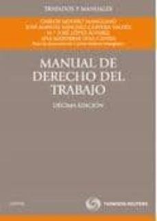 Garumclubgourmet.es Manual De Derecho Del Trabajo (10ª Ed.) Image