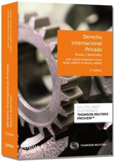 Encuentroelemadrid.es Derecho Internacional Privado (3ª Ed) Image