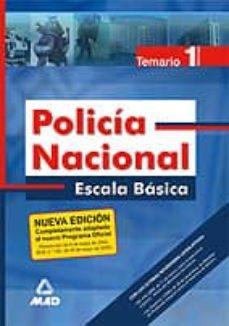 Valentifaineros20015.es Policia Nacional: Escala Basica. Temario (Vol. 1) Image