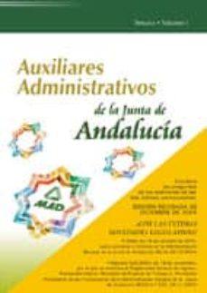 Cdaea.es Auxiliares Administrativos De La Junta De Andalucia: Temario (Vol . I) Image