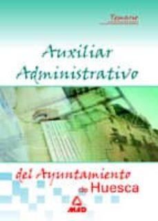 Lofficielhommes.es Auxiliar Administrativo Del Ayuntamiento De Huesca: Temario Image