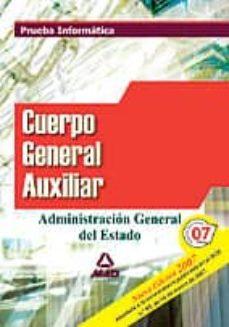 Bressoamisuradi.it Cuerpo Auxiliar De La Administracion Del Estado. Prueba Informati Ca Image