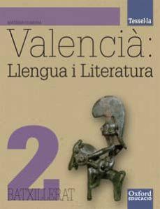 Concursopiedraspreciosas.es Tessel-la Valencia: Llengua I Literatura2ºbch La/cd Image