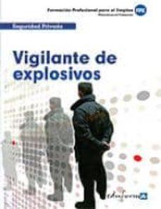 Debatecd.mx Vigilante De Explosivos. Formacion Profesional Para El Empleo Image