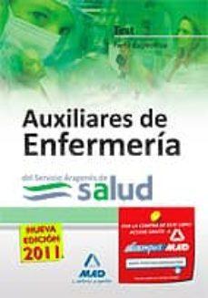 Debatecd.mx Auxiliares De Enfermeria Del Servicio Aragones De Salud: Test De La Parte Especifica Image