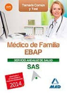 Concursopiedraspreciosas.es Médico De Familia Ebap Del Servicio Andaluz De Salud. Temario Común Y Test Image
